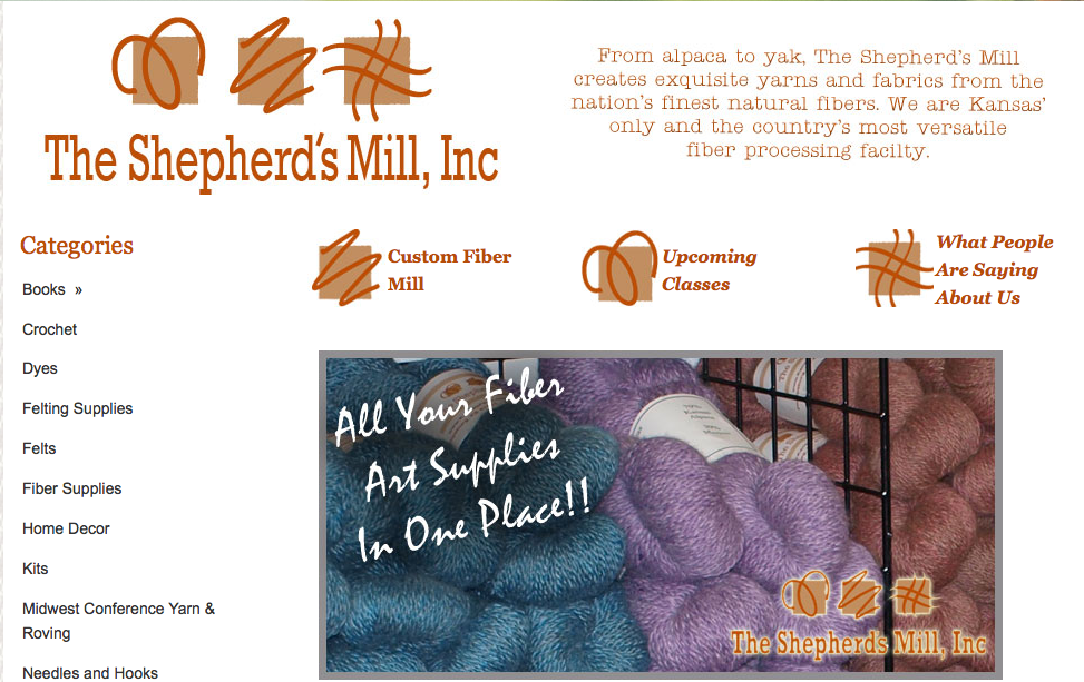 Phillipsburg KS. Visit The Shepherd's Mill Inc. Fiber Mill or call: 785-543-3128.